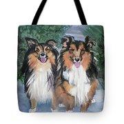 Tanya And Tucker Tote Bag