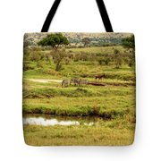 Tanzania Animal Landscape Tote Bag