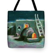 Taos At Night Tote Bag