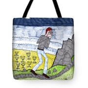 Tarot Of The Younger Self Eight Of Cups Tote Bag