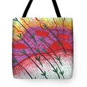 Tarot Of The Younger Self Eight Of Wands Tote Bag