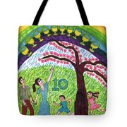 Tarot Of The Younger Self Ten Of Cups Tote Bag