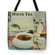 Tea Collage Poster Tote Bag