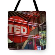 Ted In Vancouver Tote Bag by Ross G Strachan