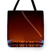 Tempe Town Lake Pedestrian Bridge Tote Bag