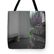 Temple Budding Tote Bag by Dylan Punke