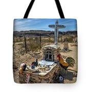 Terlingua Grave Tote Bag