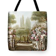 Terrazza Fiamminga Tote Bag by Guido Borelli