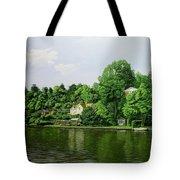 Thames At Reading Tote Bag
