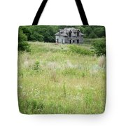 The Abandoned Farm In Summer Tote Bag by Mary Lee Dereske