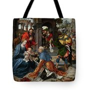 The Adoration Of The Magi With Donor  Tote Bag