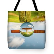 The Angel Of The North. Tote Bag