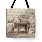 The Antique Sewing Machine Tote Bag