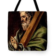 The Apostle St  Andrew  Tote Bag