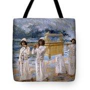The Ark Passes Over The Jordan, 1902 Tote Bag