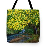 The Artistic Spirit Of Judy Doggett Walker In Blackley Forest Tote Bag