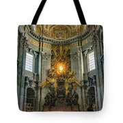 The Aspe Of St. Peter's Tote Bag