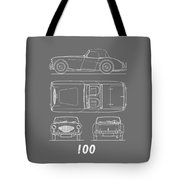 The Austin-healey 100 Tote Bag