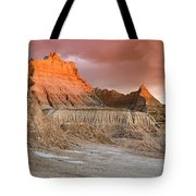 The Badlands With Another Sunrise Tote Bag