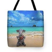 The Beach Story Tote Bag