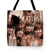 The Beatles Art  Tote Bag