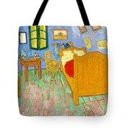 The Bedroom At Arles - Digital Remastered Edition Tote Bag