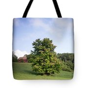 The Beginning Of Autumn Tote Bag