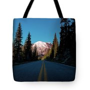 The Best Roads Lead To Rainier Tote Bag