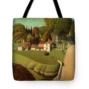 The Birthplace Of Herbert Hoover, 1931 Tote Bag