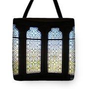 The Bishop's Windows Tote Bag by Rick Locke