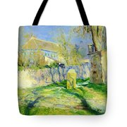 The Blue House Tote Bag