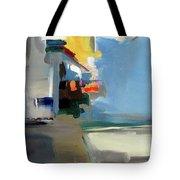 The Blue Way Tote Bag by John Jr Gholson