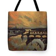The Bridges Of Maastricht Tote Bag
