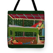 The Bunk Tote Bag by John Wiegand