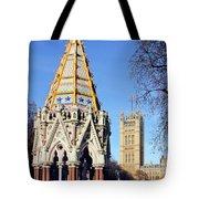 The Buxton Memorial Fountain London Tote Bag