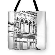 The Capital Transfer And Sands Brothers Building Helena Montana Tote Bag