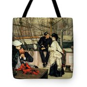 The Captain And The Mate, 1873 Tote Bag