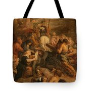 The Carrying Of The Cross, 1634 - 1637 Tote Bag