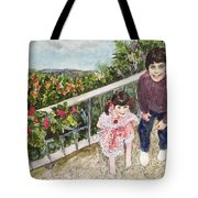 The Childrens Garden Tote Bag