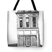 The Colwell Building Helena Montana Tote Bag