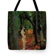 The Company Of Trees Tote Bag