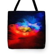 The Continuum Of Us - Breaking The Gridlock Of Hate Number 2  Tote Bag