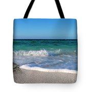 The Crab And The Sea Tote Bag