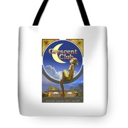 The Crescent Club, Siesta Key Tote Bag
