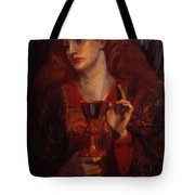 The Damsel Of The Sanct Grail Tote Bag