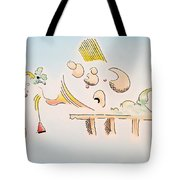 The Dawn Of Thought Tote Bag