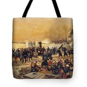 The Defense Of Champigny  Tote Bag