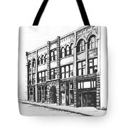 The Denver Block Helena Montana Tote Bag