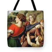 The Deposition, Detail, 1507 Tote Bag