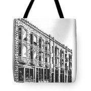 The Diamond Block Helena Montana Tote Bag